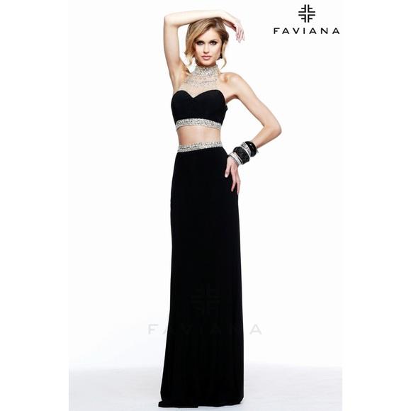 e0744da656b34 Faviana Dresses | Two Piece Prom Dress | Poshmark